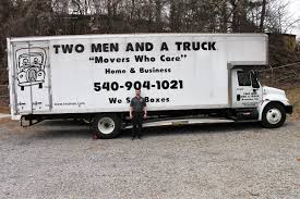 100 2 Man And A Truck Two Men And A Looking To Expand In Salem