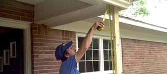 Columns On Front Porch by Installing A Fiberglass Porch Column Today U0027s Homeowner