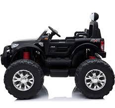 100 Ford Ranger Trucks Licensed 24V Monster Truck Ride On Jeep Black For