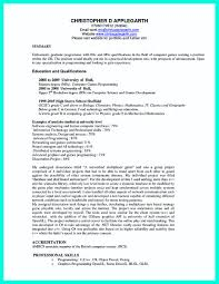 The Best Computer Science Resume Sample Collection Templates Staggering For Lecturer In Engineering College