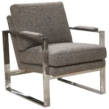 100 Modern Metal Chair Meridian Contemporary With Padded Arms By Jackson Furniture At Great American Home Store