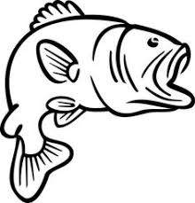 Animals For Bass Fish Coloring Pages