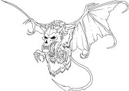 Dragon Coloring Pages Online For Adults To