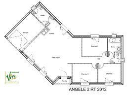 plan maison 90m2 plain pied 3 chambres modèle et plans angele 2 du constructeur