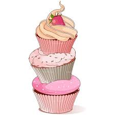 word tweet cupcake clip art a sweet pink is ready to cake