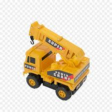 100 Bruder Tow Truck Crane Model Car Toy Construction Vehicles Png Download