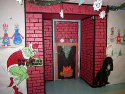 Halloween Office Door Decorating Contest Ideas by Office 18 Interior Charming White Brown Wood Glass Plastic
