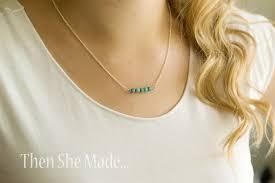 DIY Simple Necklace Tutorial