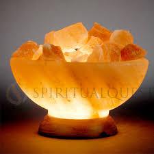 Himalayan Salt Lamp Pyramid by Himalayan Salt Bowl 8 10 Lbs 8 9 Tall The Abundance Bowl
