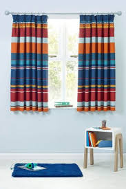 Navy And White Striped Curtains Uk by Pencil Pleat Curtains Ready Made Pencil Pleat Curtains Next