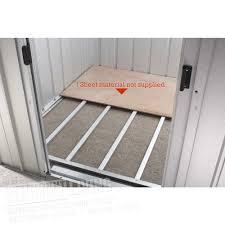 Shed Anchor Kit Instructions by Floor Support Frame For Yardmaster Metal Sheds Westmount Living