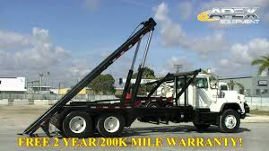 100 Rolloff Truck For Sale 1998 Mack DM690S Roll Off YouTube
