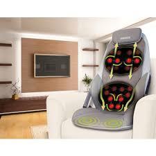 siege massant homedics cbs1000 fauteuil massant chauffant shiatsu cbs 1000a eu homedics pas cher
