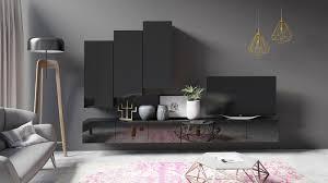 tv lowboard greta 300 farbauswahl hochglanz wohnzimmer modern tv schrank weiß