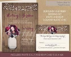 136 Best Rustic Mason Jar Wedding Invitations Pinterest