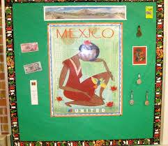 Bulletin Board In Spanish Class