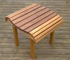 Make Outdoor End Table by The Runnerduck Cedar End Table Plan Is Step By Step Instructions