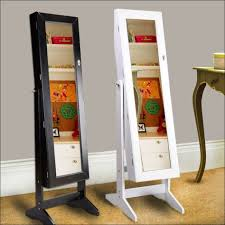 metal accessory tray handmade painting stand up mirror with