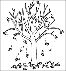 Bare Tree Coloring Pictures