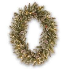Christmas Tree Storage Bin Home Depot by Wreath Storage Christmas Wreaths U0026 Garland The Home Depot