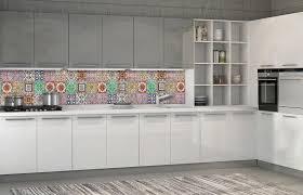 vließ fototapete tapete für die küche bunte fliesen
