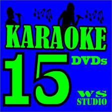 15 Dvds Karaokê Musicas Pop Rocksertanejo Mpb Ref13