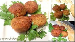 cuisine libanaise recette falafels facile