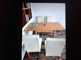 4 stühle vom dänischen bettenlager für esszimmer eur 50 00