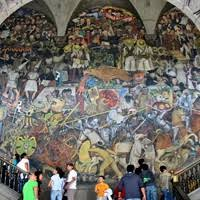 mexican murals painting movement in mexico led by diego rivera