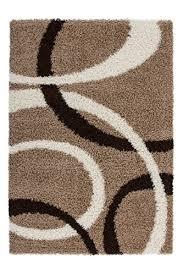 Teppich Wohnzimmer Modern Carpet Geometrisches Design RUG Germany Dresden Silber 160x230cm