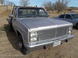 1984 Chevrolet 30 Flatbed Pickup Truck   Item BJ9784   Wedne... 1984 Chevrolet Silverado Connors Motorcar Company Mid Engine Pick Up Youtube For Sale 2041442 Hemmings Motor News 1972 Trucks Hot Rod Network Blazer M1009 Radio Truck With Trailer 1 Flickr Who Doesnt Use A Pickup C10 Busted Knuckles F2 Houston 2012 K10 Coub Gifs Sound Charming Big Block Truck Bangshiftcom Tow Rig Spare Or Just Clean Bigblock