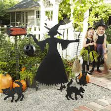 Amosfun Halloween Yard Sign Cute Pumpkin Ghost Decoration Lawn Decoration Signs For Outdoor Halloween Yard Decorations 6 Pack