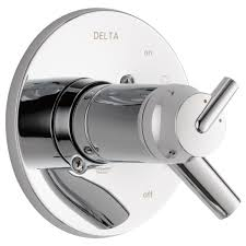 Delta Trinsic Bathroom Faucet Black by T17t059 Tempassure 17t Series Valve Only Trim