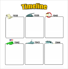 Blank Timeline Template For Kids 40 Free Psd Word Pot Pdf Documents Download