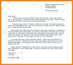 7 format of an informal letter