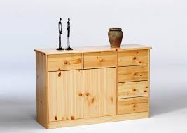 sideboard anrichte kommode kiefer massiv lackiert schlafzimmer flur wohnbereich lanatura