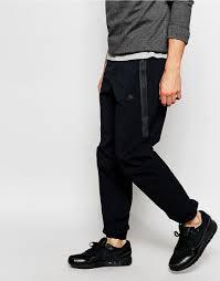 nike tech woven 2 0 black cuffed cargo jogger training pants