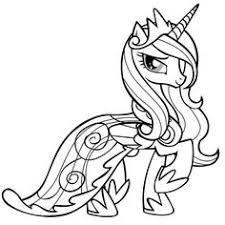 Pin Drawn My Little Pony Unicorn 3