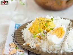 sos cuisine com eggs with a curry sauce a soscuisine recipe