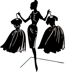 Black And White Free Fashion Clipart Clothing Clip Art