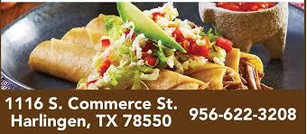 El Patio Mexican Restaurant Mi by El Patio Mexican Restaurant Home Harlingen Texas Menu
