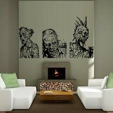 Wall Decal Mummy Zombie Horror Fear Dead Myth Character Corpse Bedroom M1244