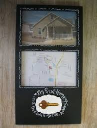 Custom Order Handpainted Frame Our First Home Or Apartment Anniversary Gift With Glue Included To Add Your Key Do This Clark And