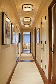 View In Gallery Bright Hallway With Neutral Colors