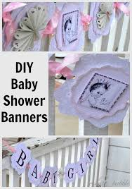 baby shower decorations diy style shower banners diy baby