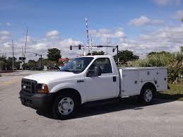 100 Utility Truck For Sale 2007 D Super Duty F350 SRW CabChassis Service