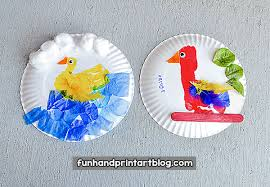 Paper Plate Bird Crafts For Preschoolers Kindergartners
