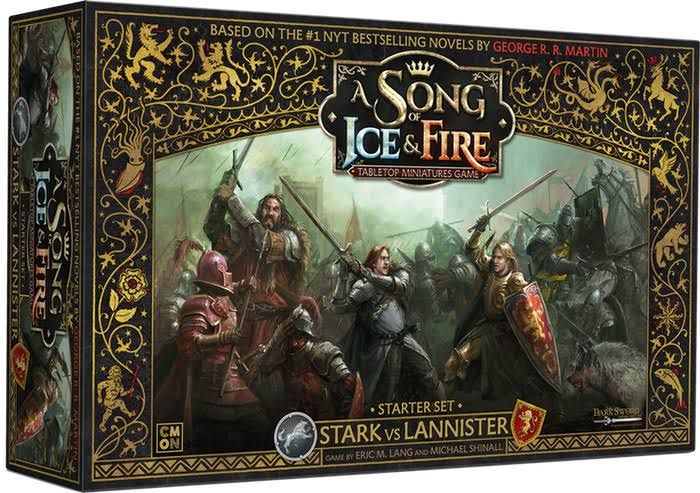 A Song of Fire and Ice: Tabletop Miniatures Game Stark vs Lannister Starter Set