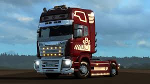 100 Euro Truck Simulator 3 2 Mighty Griffin Tuning Pack 2016