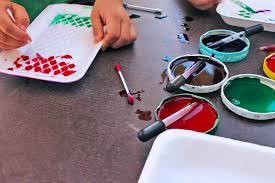 Easy Art Activities For Kids Styrofoam Patterns